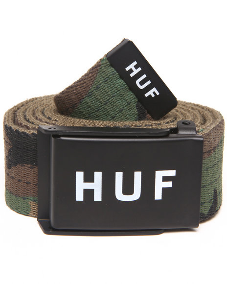 Huf Men Original Logo Scout Belt Camo
