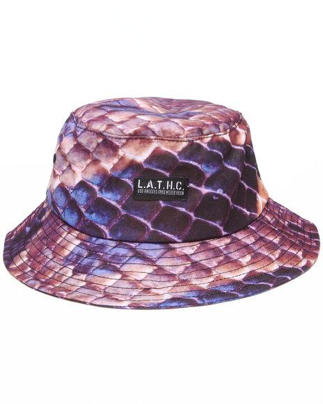 L.A.T.H.C. Multi Snake Skin Bucket Hat