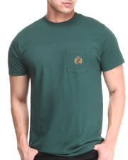 Men - Big Crest Pocket Tee
