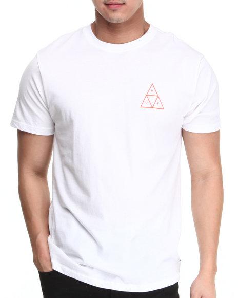 HUF White Triple Triangle Tee