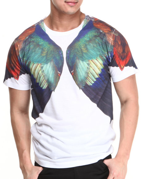 L.A.T.H.C. White Durer Wings Tee