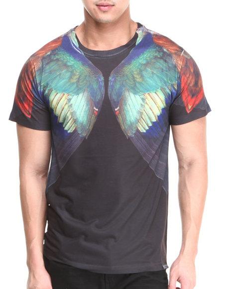 L.A.T.H.C. Black Durer Wings Tee