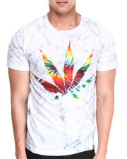 Men - Tiedye Leaf Tee