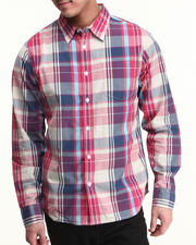 Button-downs - Highland Plaid L/S Button-down