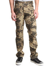Basic Essentials - Skinny Stretch Camo Denim Jeans