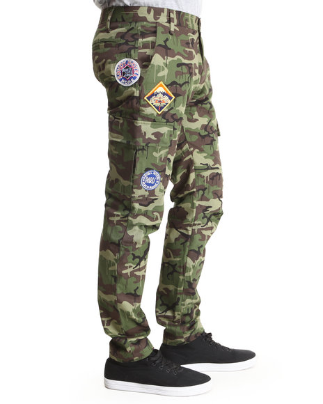 Dope - Men Camo Backpacker Cargo Pants