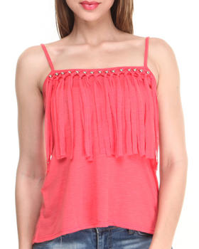 Almost Famous - Fringe Days Knit Tank