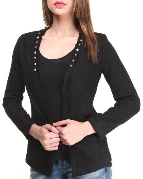 Fashion Lab - 5th Ave Lightweight Woven Jacket