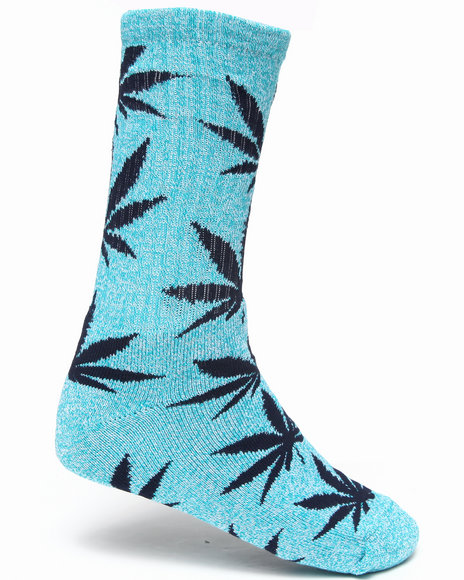 Huf Men Plantlife Crew Socks Blue