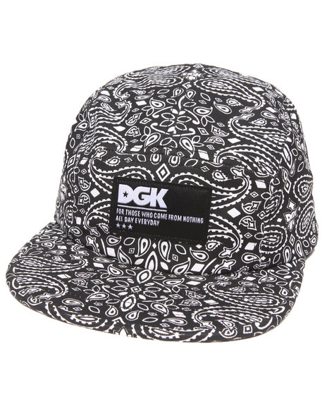 Dgk Og 5-Panel Cap Black