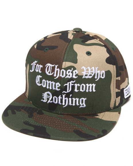 Dgk From Nothing Snapback Cap Camo