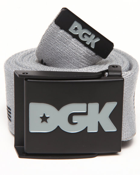 Dgk Standard Issue Scout Belt Grey