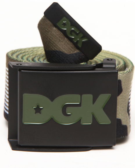 Dgk Standard Issue Scout Belt Camo