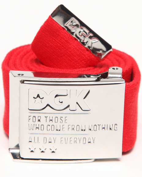 Dgk Eagle Scout Belt Red