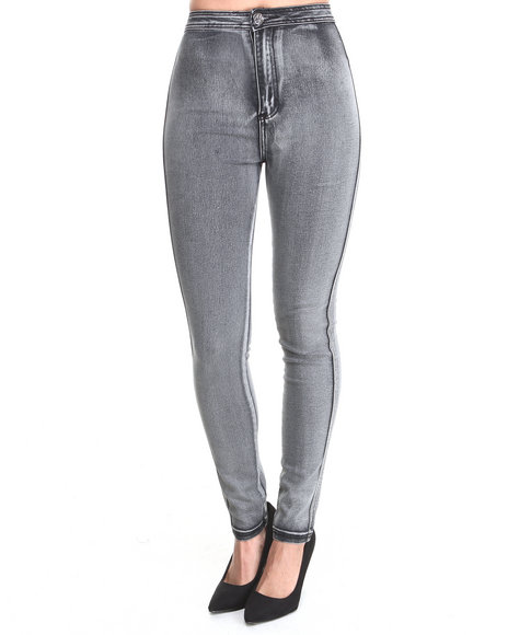 Almost Famous - Acid High Rise Skinny Jean