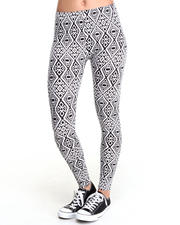 Bottoms - Aztec Tribal Legging