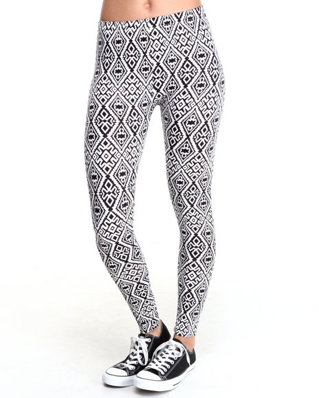 Rampage Black,White Leggings