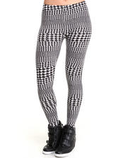 Women - Houndstooth Geo Legging