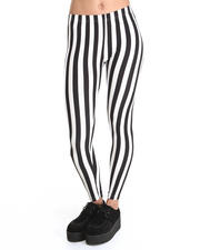 Bottoms - Stripe Madness Mod Legging