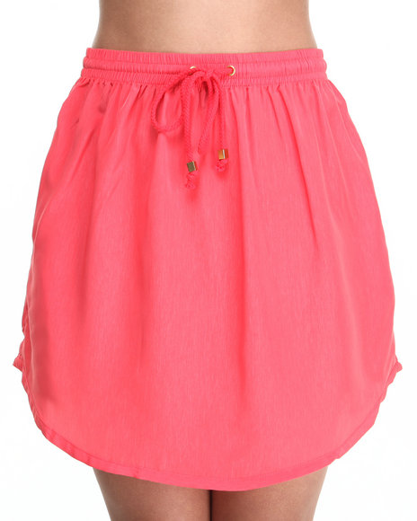 Ali & Kris - Women Coral Peach Skin Athletic Skirt