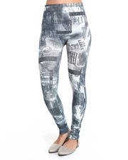 Women - Living Large Sublimation Print Legging