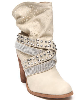 Not Rated - Perforated Bling Studded Bootie
