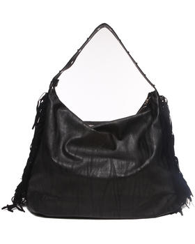 Rampage - Slouchy Fringed Sides Hobo