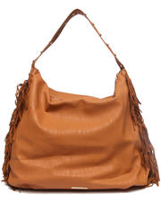 Women - Slouchy Fringed Sides Hobo