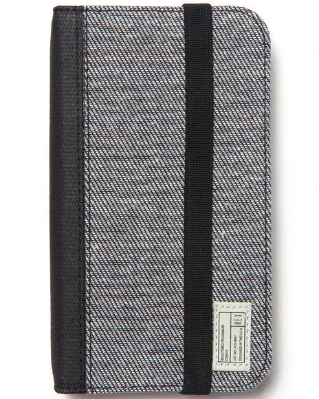 Hex Men Academy Galaxy S4 Icon Wallet Grey