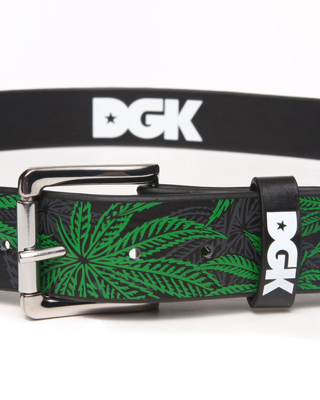 Dgk Home Grown Pu Leather Belt Black
