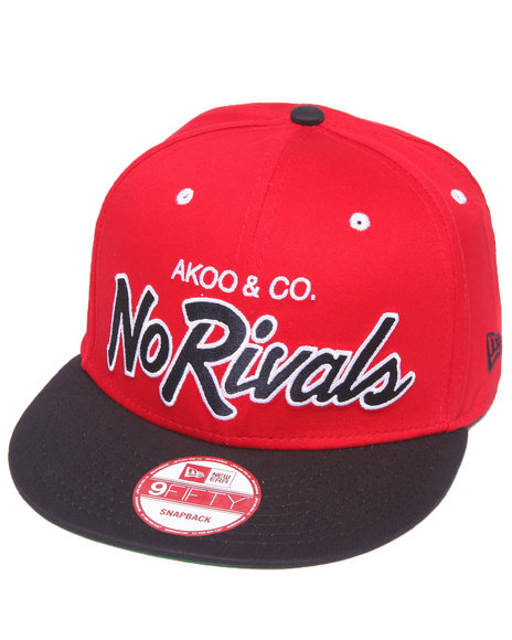 Akoo Rivalry Snapback Cap Red