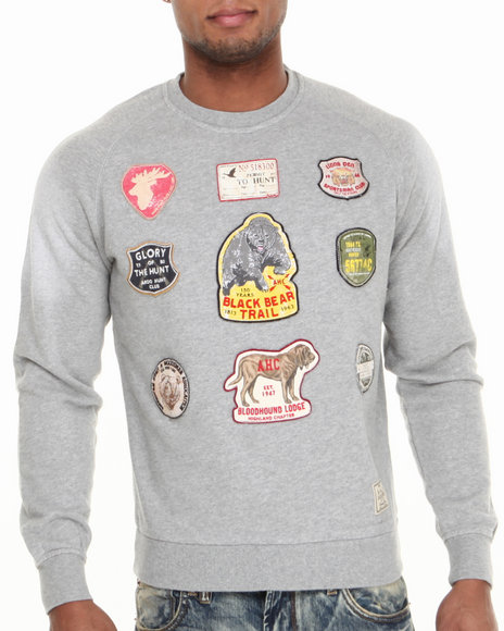 AKOO Grey Mileage French Terry Sweatshirt