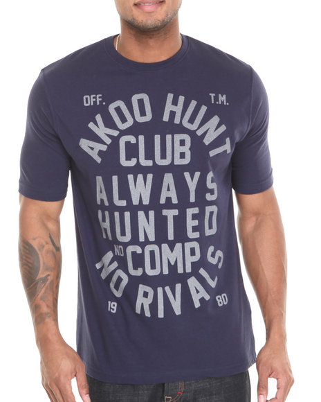 AKOO Navy No Rivals 3M Reflective Tee