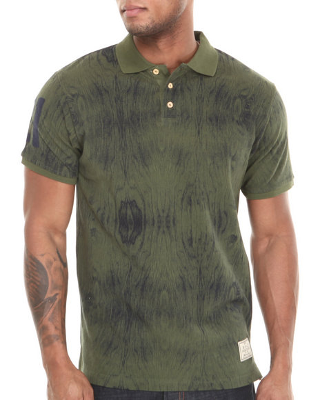 Akoo - Men Green Woody Pique Polo