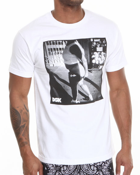 Dgk - Men White Ratchet Tee