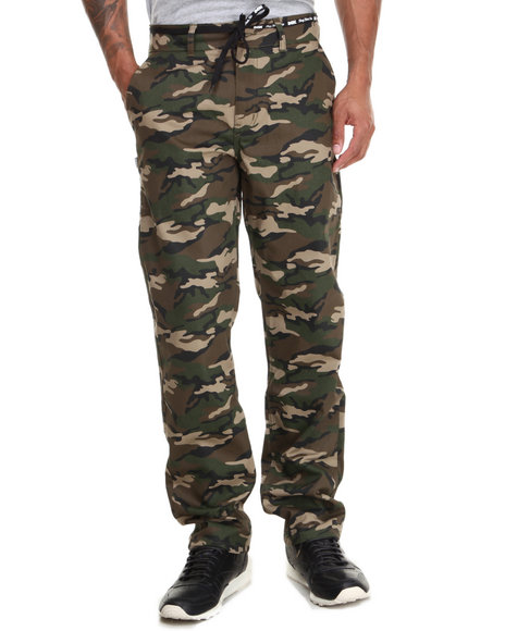 Dgk - Men Camo Working Man 4 Chino Pants