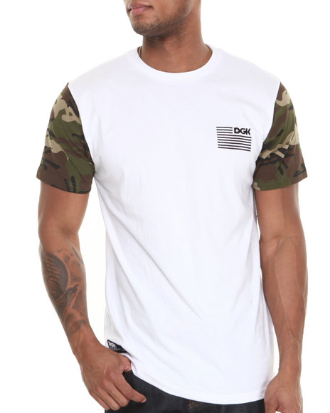 DGK White Ar-15 Custom Tee
