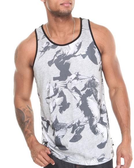 Dgk Grey Tanks