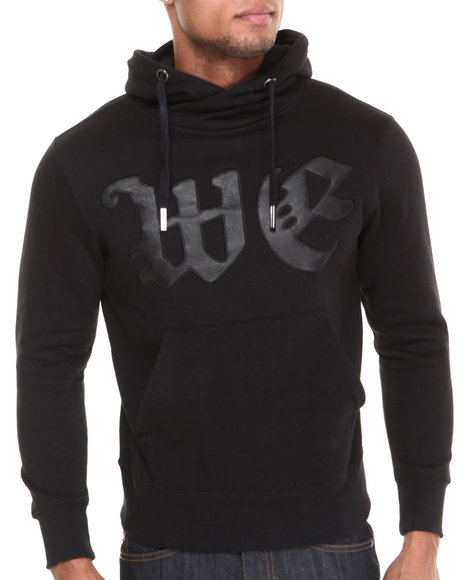 Well Established Black Swell Hoodie