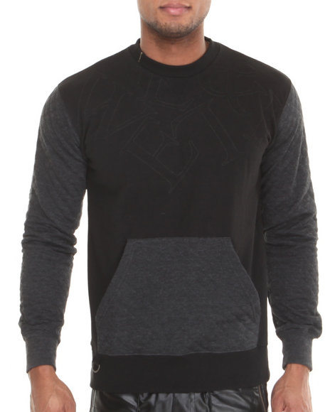 Well Established Black Star Link Sweatshirt