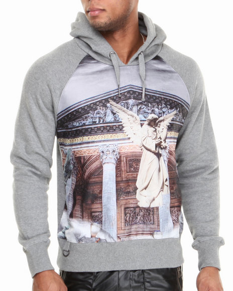 Well Established Grey Establishment Hoodie