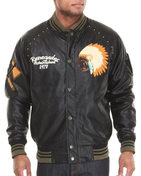 Pelle Pelle Black Indian Chief Jacket