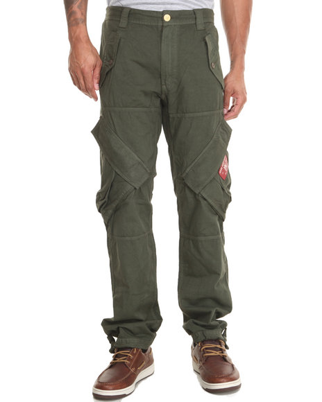 Akoo - Men Green Harvest Cargo Pants