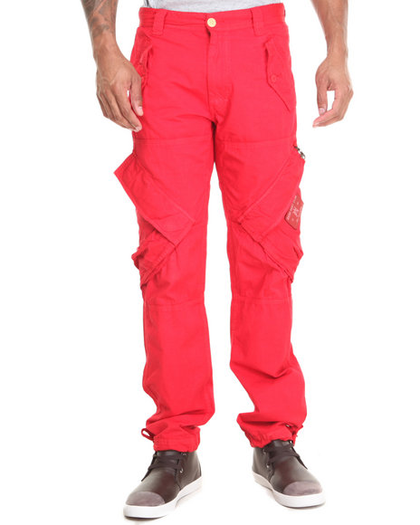 Akoo - Men Red Harvest Cargo Pants