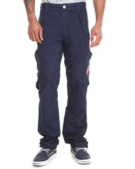 AKOO Navy Harvest Cargo Pants