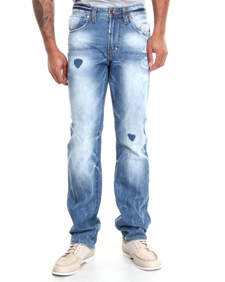 AKOO Blue Bond Jeans