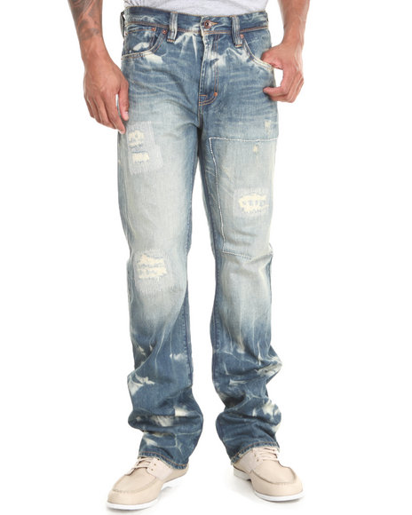 AKOO Blue Rosewood Jeans