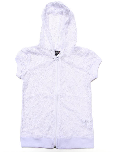 La Galleria White Hoodies