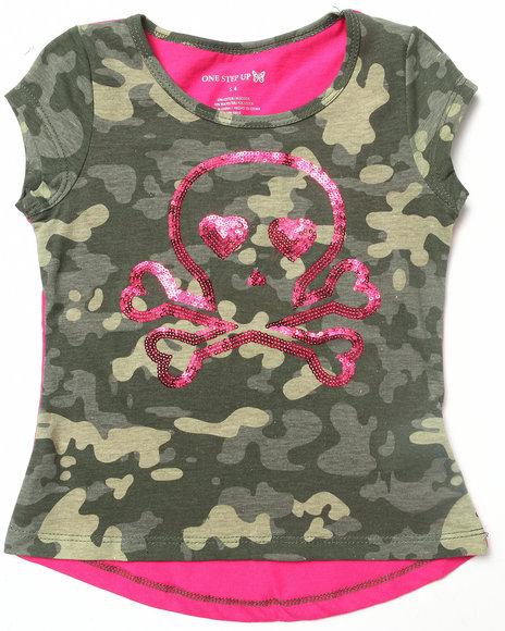 La Galleria Camo,Pink T-Shirts