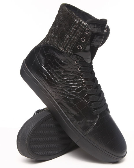AH by Android Homme Black Propulsion 2.5 Sneakers
